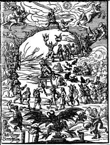 """Walpurgisnacht"" by Johannes Praetorius (1668)."
